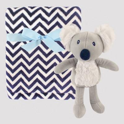 Hudson Baby Plush Blanket with Plush Toy Set - Koala