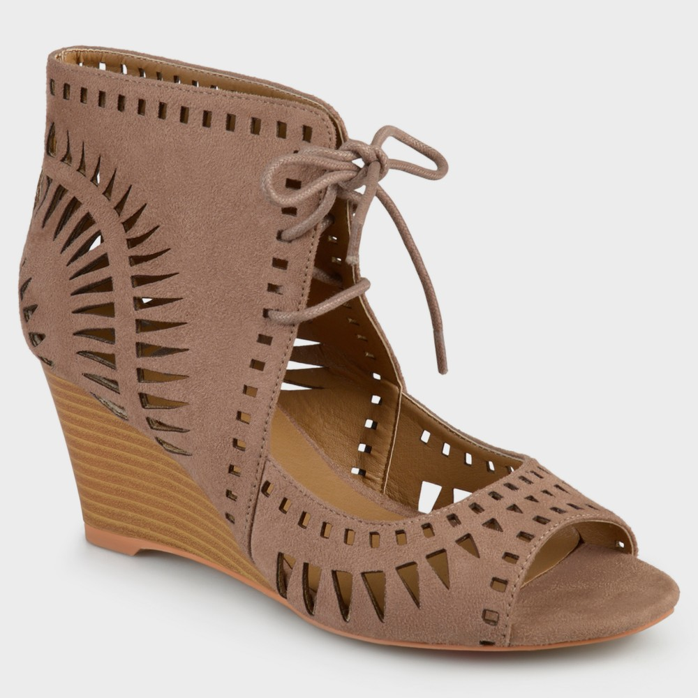 Womens Journee Collection Pumps Zola - Taupe (Brown) 9