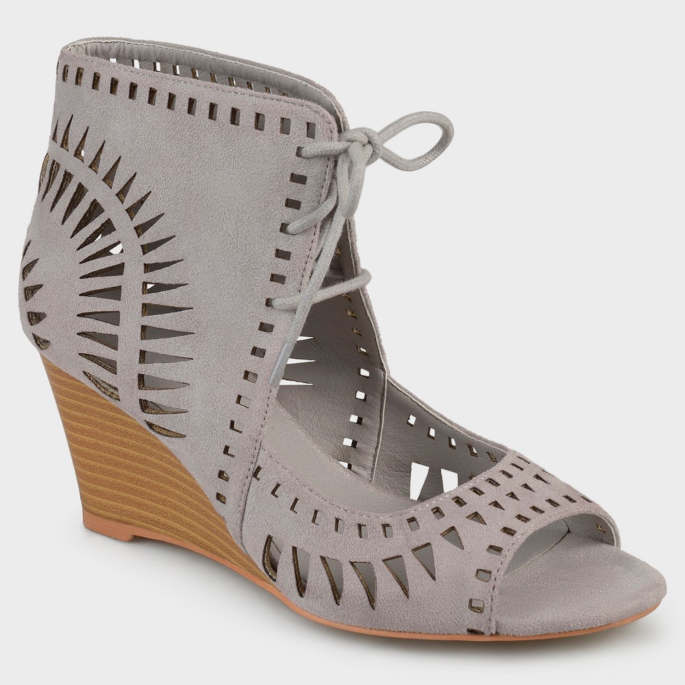 Womens Journee Collection Pumps Zola - Gray 9