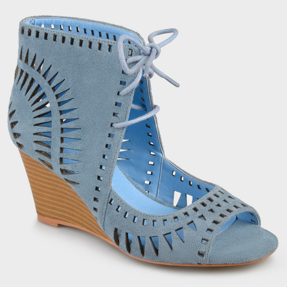 Womens Journee Collection Pumps Zola - Blue 6