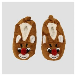Kids' Rudolph Ballet slippers - Brown