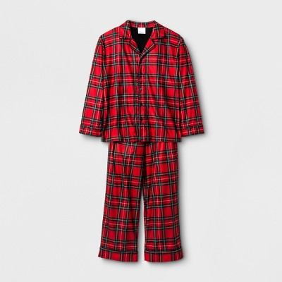 view Kids' Holiday Plaid 2pc Pajama Set - Wondershop Red on target.com. Opens in a new tab.