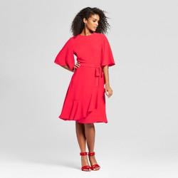 Women's Ruffle Wrap Dress - Who What Wear™