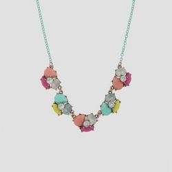 Girls' Tear Drop Stone Necklace - Cat & Jack™