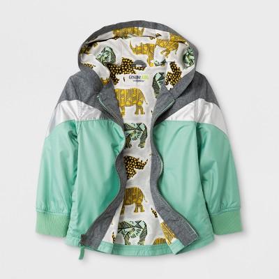 Toddler Boys' Genuine Kids™ from OshKosh® Windbreaker - Charcoal - 12M