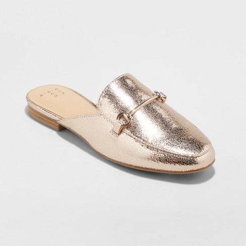 Women's Kona Slip On Loafer Mules - A New Day™ - image 1 of 3