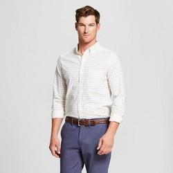 Men's Slim Fit Northrop Long Sleeve Button Down Shirt - Goodfellow & Co™ Eco White