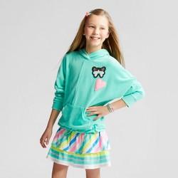 Girls' Streetwear Hoodie - Cat & Jack™ Green