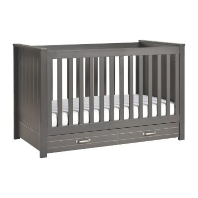 DaVinci Asher 3-in-1 Convertible Crib - Slate