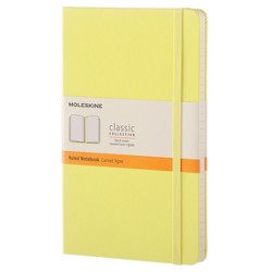 Moleskine™ Lined Journal - Yellow Hardcover