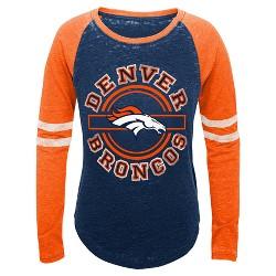 Denver Broncos Girls' Crew Neck T-Shirt