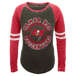 Tampa Bay Buccaneers Girls' Crew Neck T-Shirt