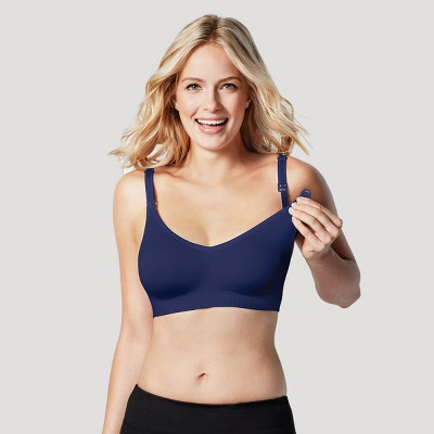 Bravado! Designs® Women's Body Silk Seamless Nursing Bra - Dark Blue M