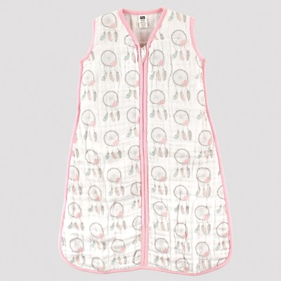 Hudson Baby Safe Sleep Wearable Muslin Sleeping Bag - Dream Catchers - 6-12M