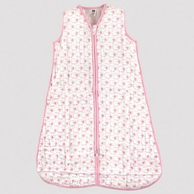 Hudson Baby Safe Sleep Wearable Muslin Sleeping Bag - Pink Sheep - 12-18M