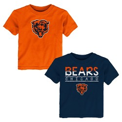 Chicago Bears Toddler Boys' 2pk T-Shirt Set