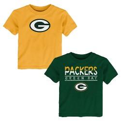 Green Bay Packers Boys' 2pk T-Shirt