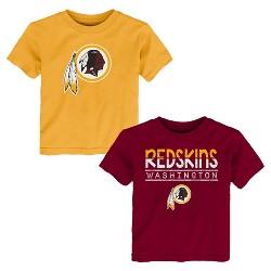 Washington Redskins Toddler Boys' 2pk T-Shirt Set