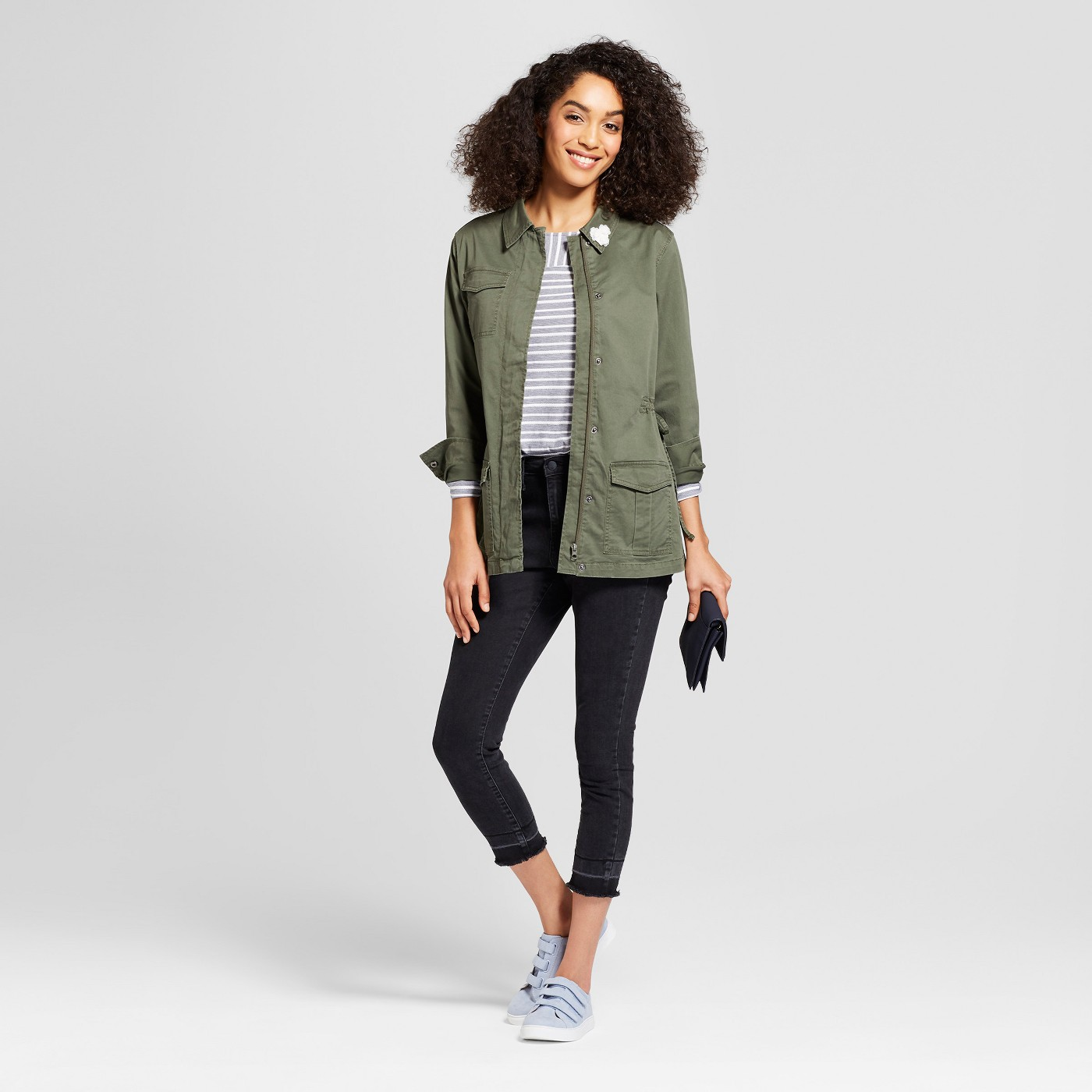 "Women's Military Jacket - A New Dayâ""¢ Olive - image 3 of 3"