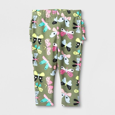 Baby Girls' Leggings - Cat & Jack™ Butterflies 12M