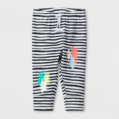 Baby Girls' Leggings - Cat & Jack™ Multi-Colored NB