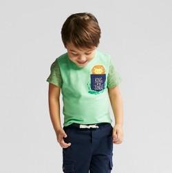 Toddler Boys' Short Sleeve T-Shirt Cat & Jack™ Light Green