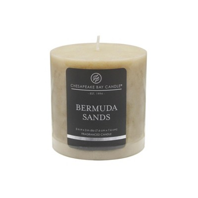 Pillar Candle Bermuda Sands 3 x3  - Chesapeake Bay Candle