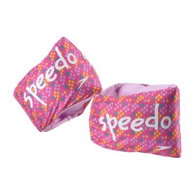 Speedo Girls Fabric Armbands - Pink