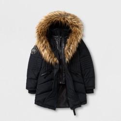 Stevies® Girls' Puffer jacket - Black