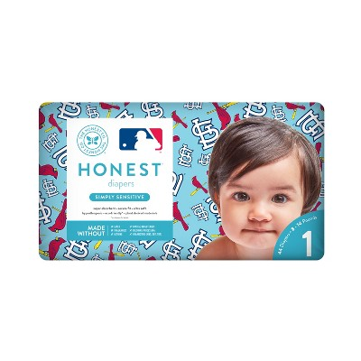 Honest Company Diapers, St. Louis Cardinals - Size 1 (44ct)