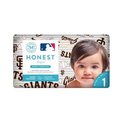 Honest Company Diapers, San Francisco Giants - Size 1 (44ct)