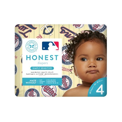 Honest Company Diapers, Minnesota Twins - Size 4 (29ct)