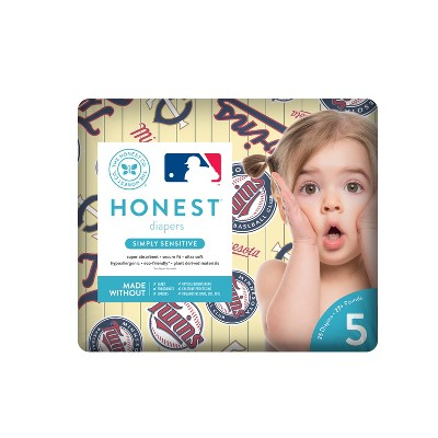 Honest Company Diapers, Minnesota Twins - Size 5 (25ct)