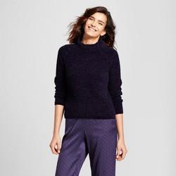 Women's Turtleneck Pullover Sweater - nitrogen Navy
