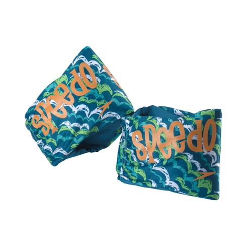 Speedo Boys Fabric Armbands - Blue/Green - image 1 of 1