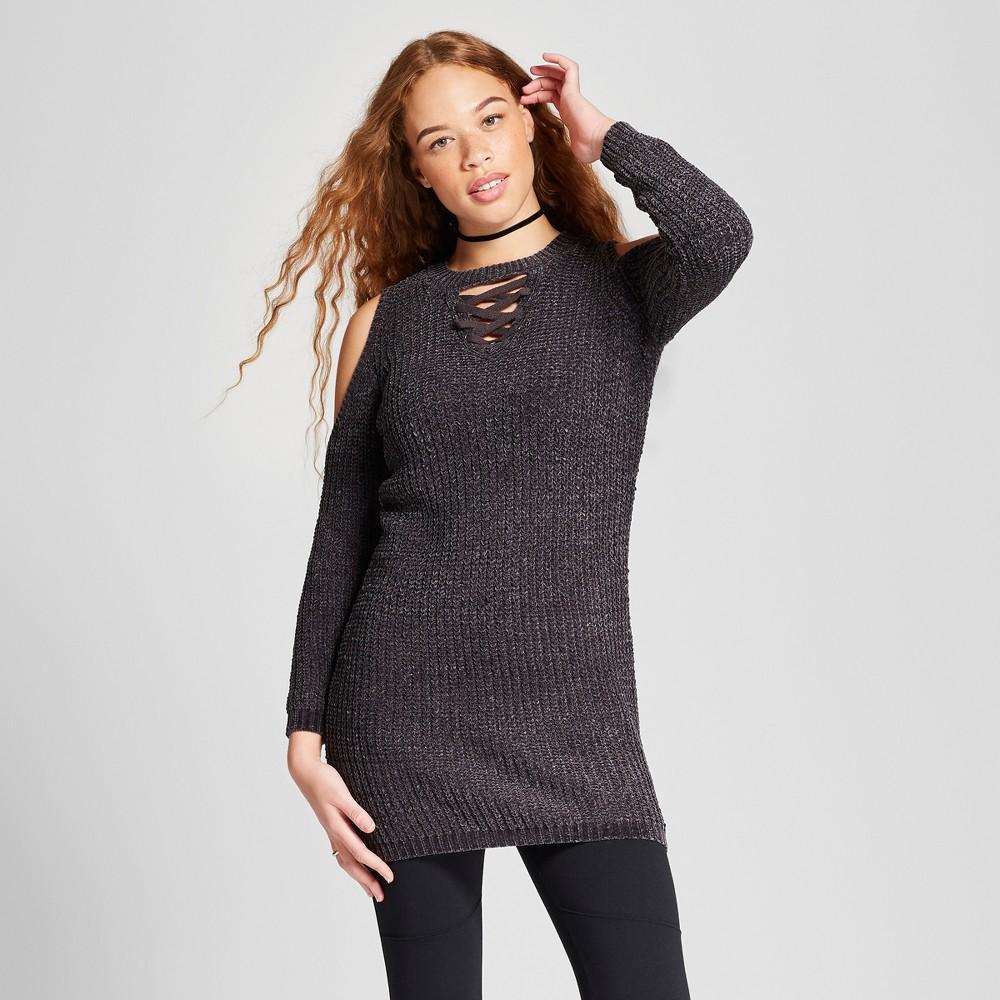 Women's T Shirt Dress Xhilaration (juniors') Gray Xs