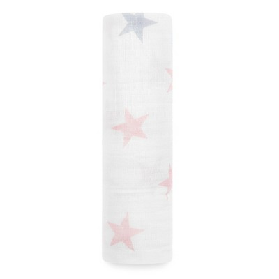 Aden® by Aden + Anais® Muslin Swaddle - Doll - Light Pink
