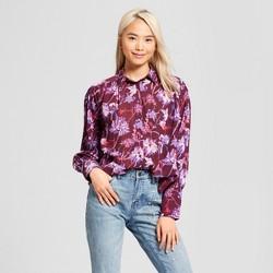 Women's Long Sleeve Puff Shirt - Who What Wear™