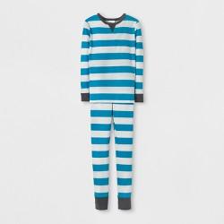 Kids' Rugby Family Pajama Set - Wondershop™ Blue