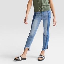 Girls' Two Toned Denim Jeans - art class™ Denim Blue