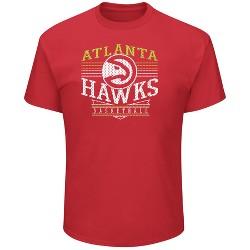 NBA Men's Team Logo Short Sleeve Heathered T-Shirt