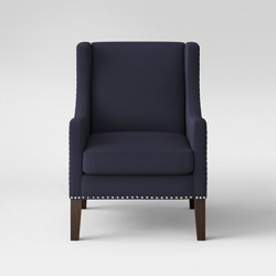 Wingback Chair with Nail Heads - Threshold™