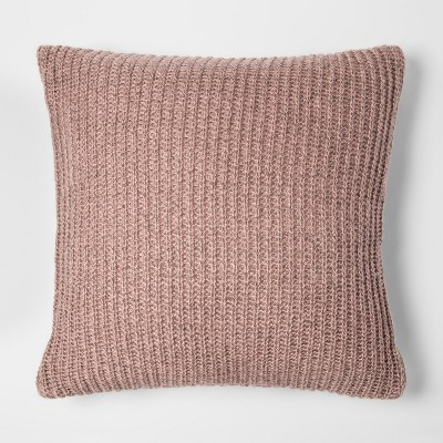 Pink Knit Oversize Throw Pillow - Project 62™