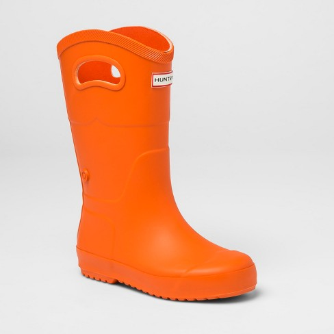 Hunter for Target Kids' Tall Rain Boots - Orange - image 1 of 5