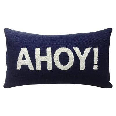 Ahoy! Throw Pillow Blue 27 x15  - Threshold™