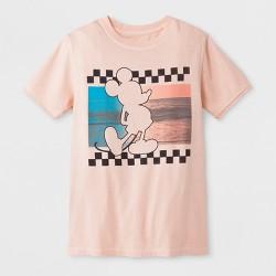 Boys' Short Sleeve Mickey Mouse T-Shirt - Art Class™ Peach