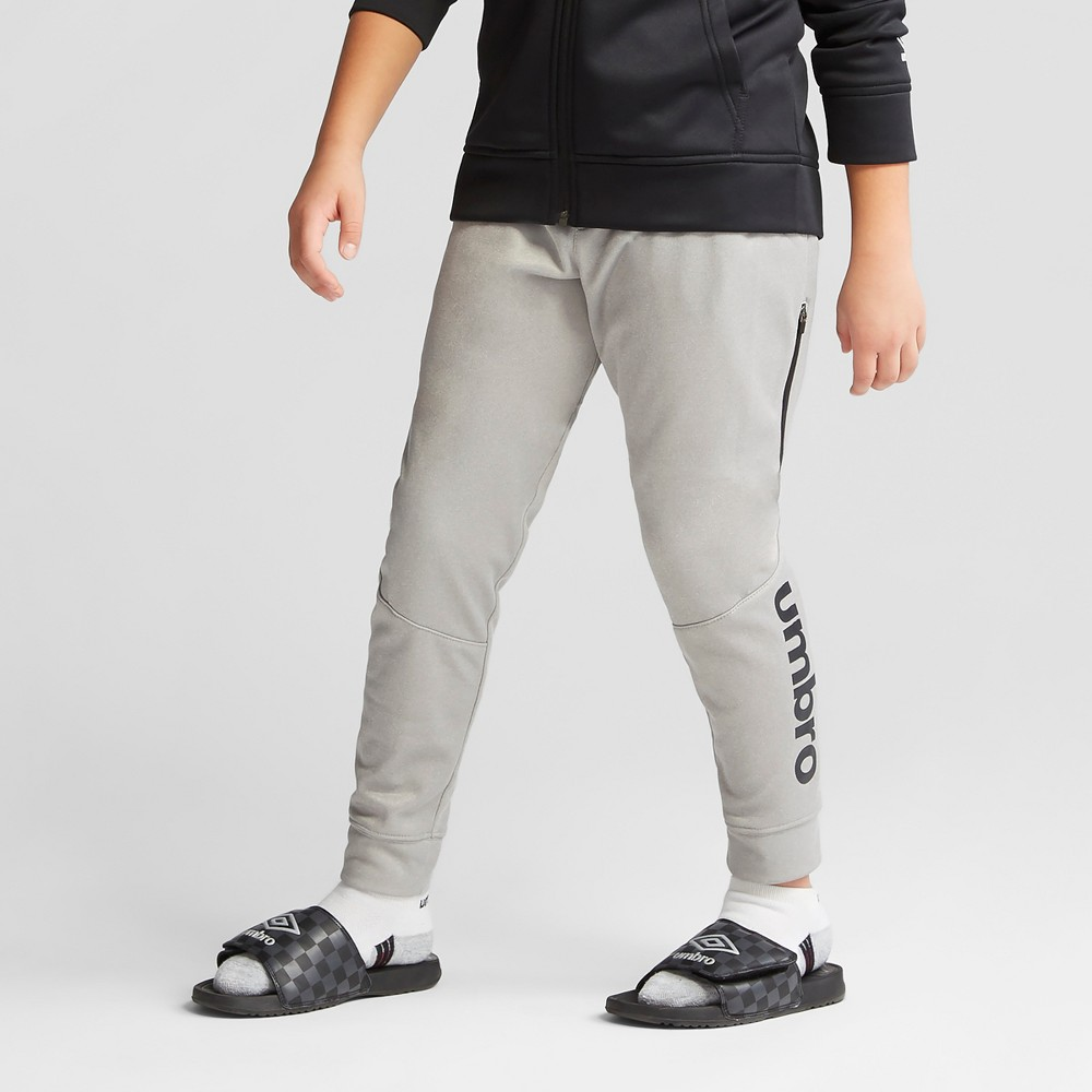 Umbro Boys' Tech Fleece Jogger Pants - Gray Heather XL
