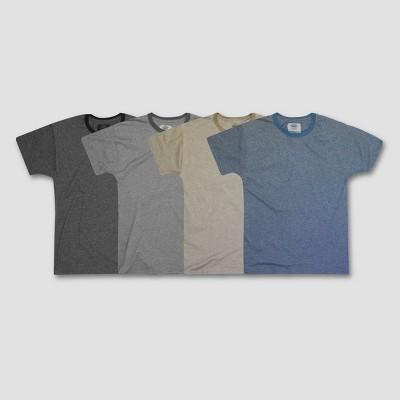 Hanes 1901 Men's Ringer Crew T-Shirt 4pk - M