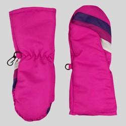 Baby Girls' Stripe Mittens - Cat & Jack™ Pink