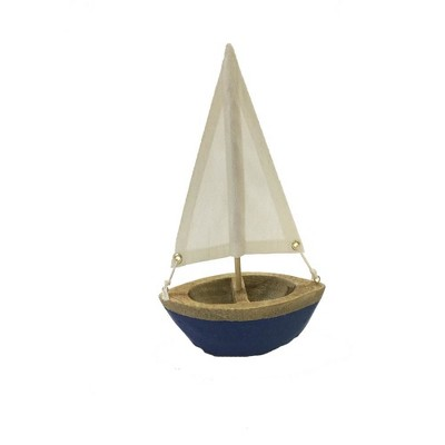 Large Boat Decoration White/Blue 9.5  - Threshold™